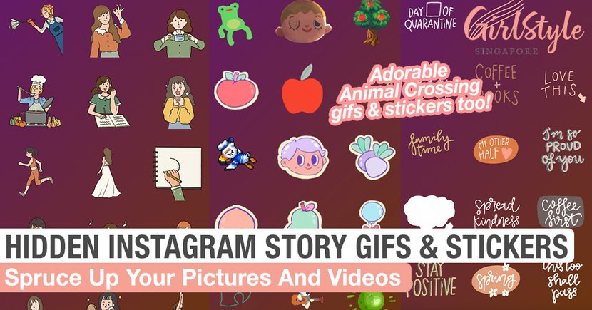 Hidden Instagram Story Gifs And Stickers To Help Spruce Up Your Pictures & Videos