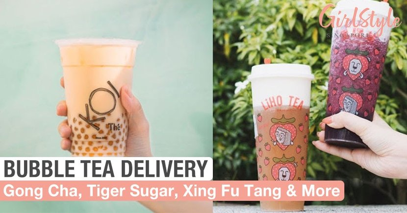 10 Bubble Tea Delivery Services In Singapore So You Don't Have To Queue For Takeaways