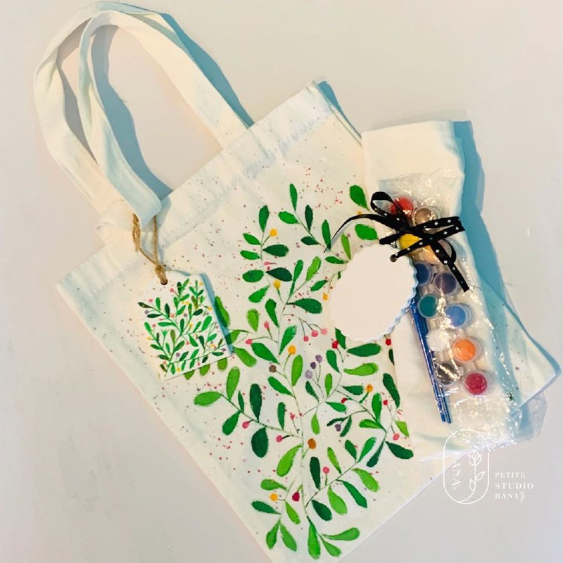 Tote bag DIY painting kit Singapore