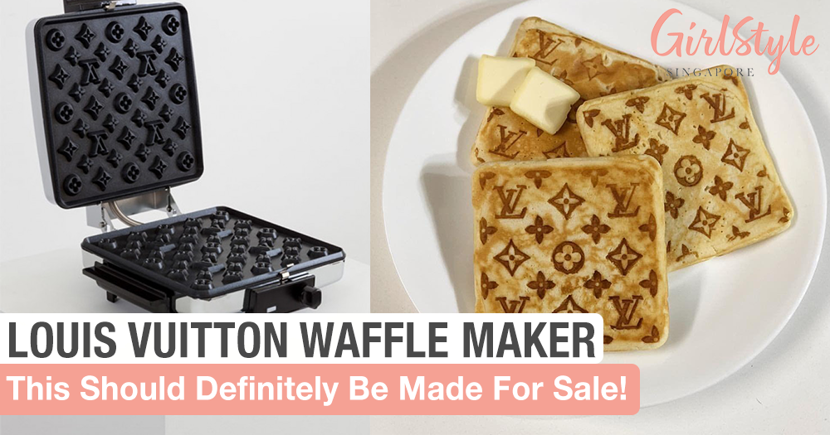 This Louis Vuitton Logo Waffle Maker Should Definitely Be A Real Thing We Can Buy