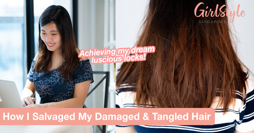 How I Salvaged My Damaged & Tangled Hair After Living With It For My Entire Youth