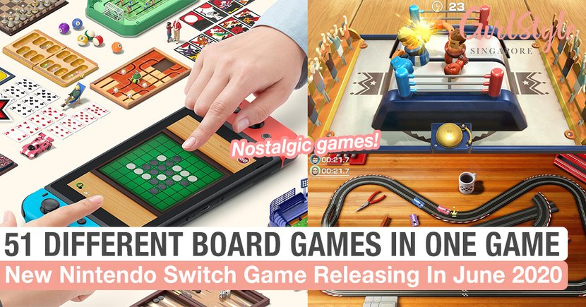 New Nintendo Switch Game Releasing In June 2020 Lets You Play 51 Different Board Games