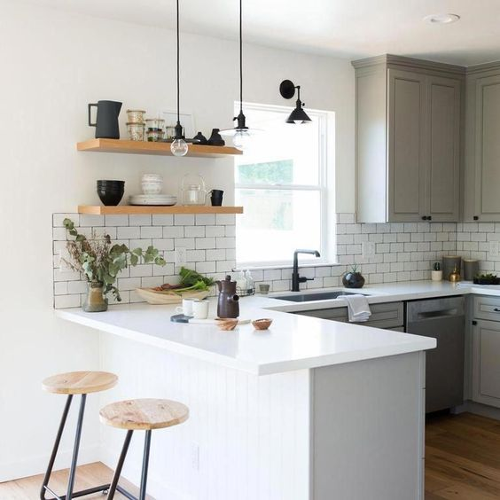 How To Incorporate A Bar Counter In Your Small Bto Hdb Kitchen Girlstyle Singapore