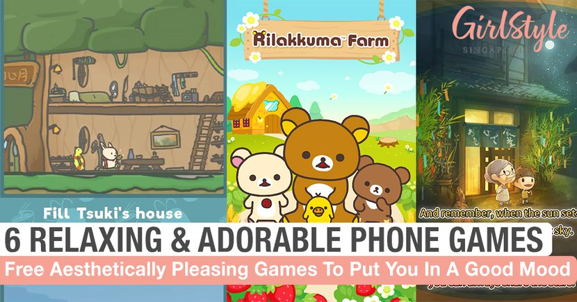 6 Relaxing, Adorable & Aesthetically Pleasing Games To Play On Your Phone For Free