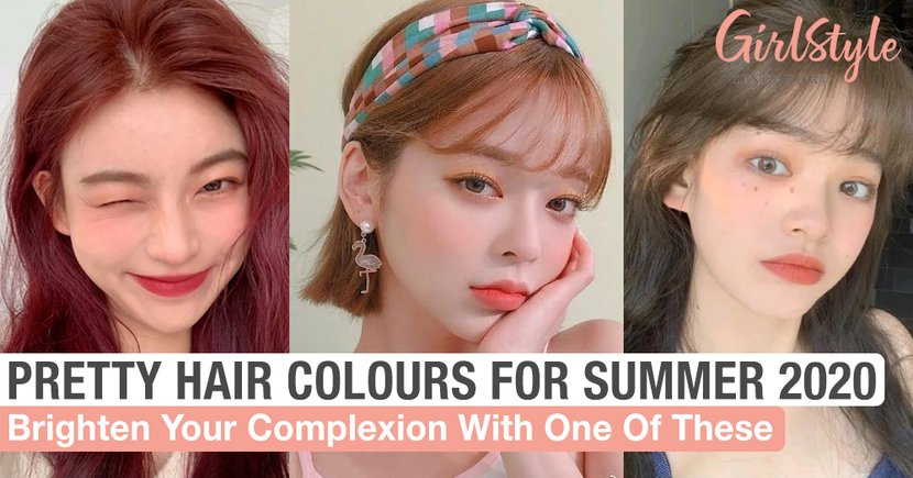 Pretty Hair Colours Fit For Summer 2020 To Brighten Your Complexion