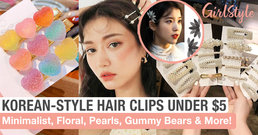 Channel Your Inner IU From Hotel Del Luna With These 8 Korean-Style Hair Clips Under $5