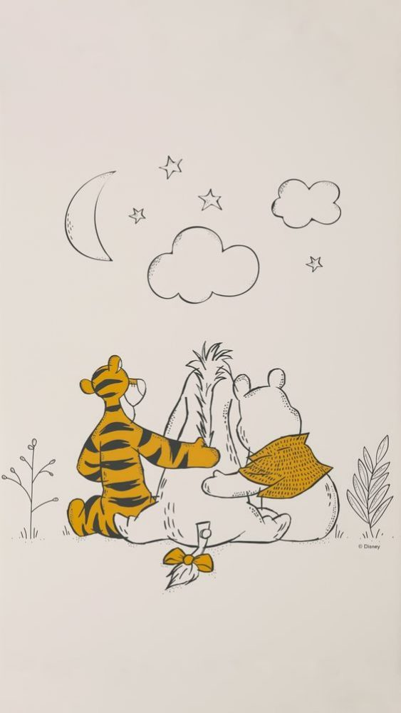 Winnie The Pooh Phone Wallpapers In Soft Soothing Colours Girlstyle Singapore