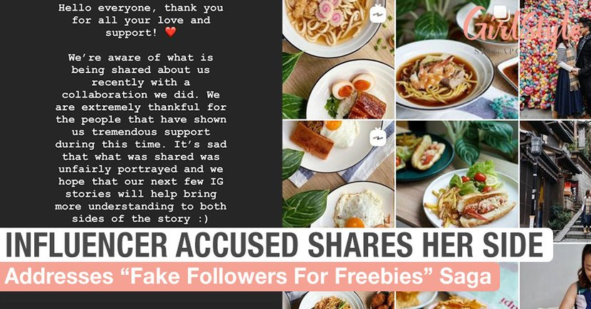 Influencer Accused Of Faking Followers For Free Food Shares Her Side Of The Story