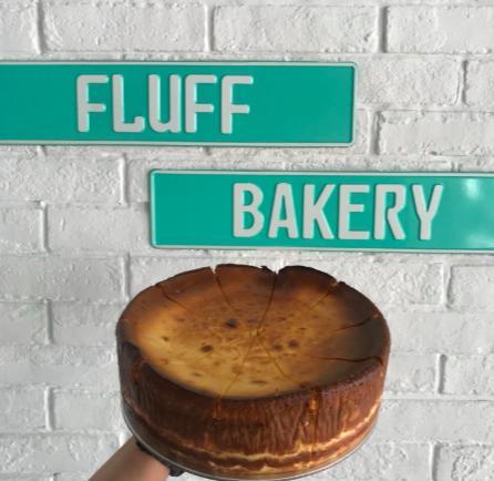 Fluff Bakery's Basque burnt cheesecake