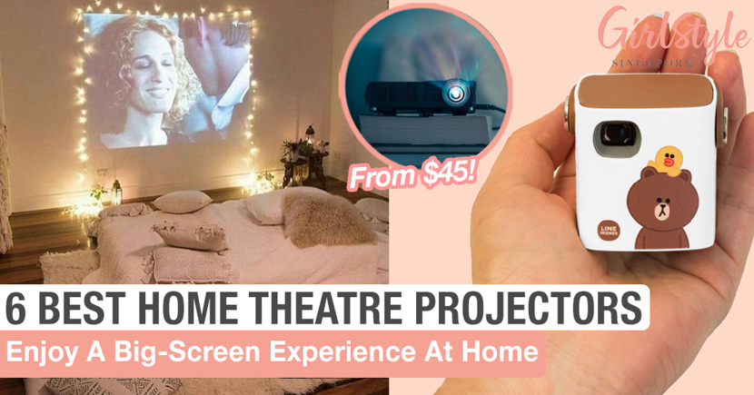 6 Best Projectors In Singapore To Turn Your Home Into A Cinema On Any Budget