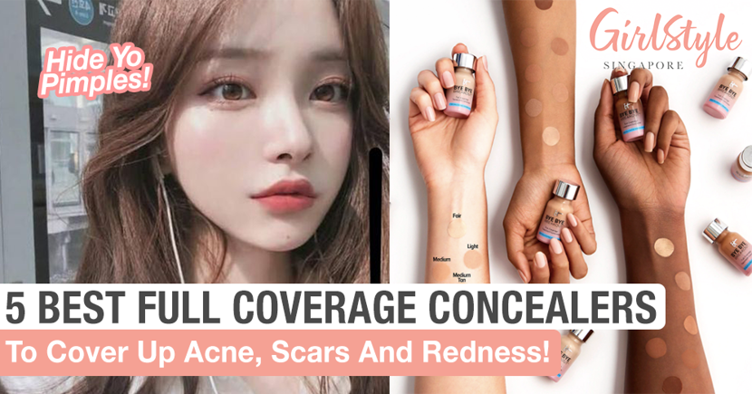 Hide Zits With A Naturally Flawless Look Using These 5 Best High Coverage Concealers