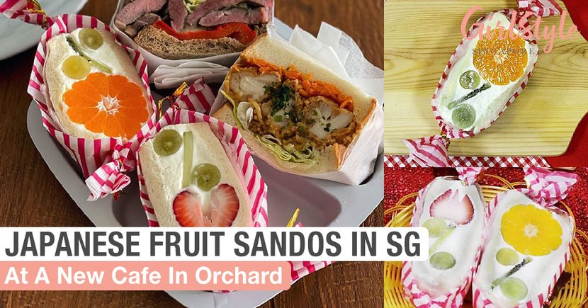 Moe Moe Sandwich: New Japanese Cafe In Singapore With Trending Fruit Sandos