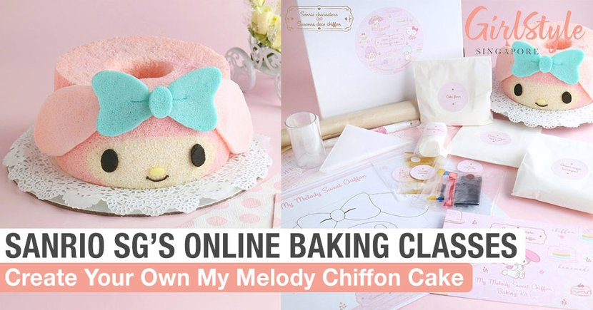 Sanrio Singapore Is Holding Online Baking Classes For Character-Themed Chiffon Cakes In Singapore