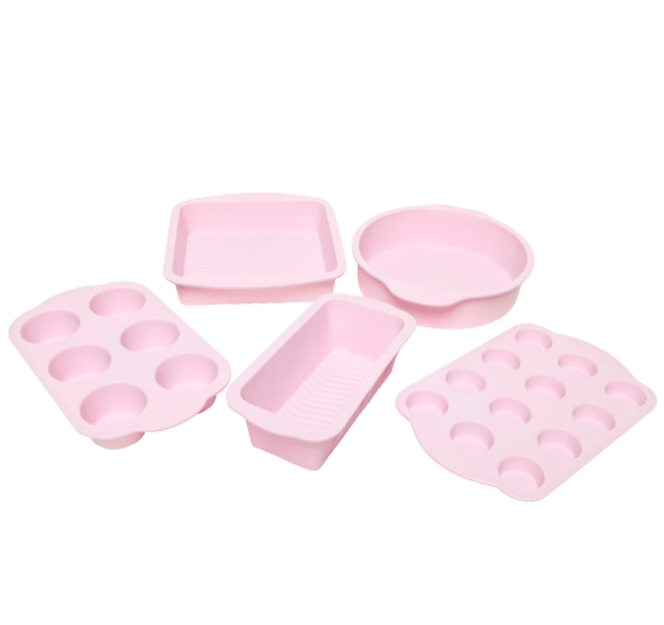 Wiltshire pink Springform Pans and muffin trays