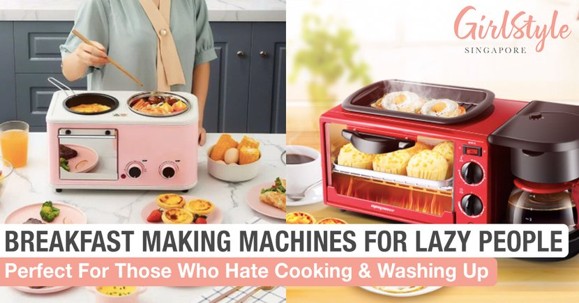 Breakfast Making Machines For Lazy People Who Hate Cooking And Washing Up