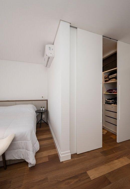 Hidden walk-in closet