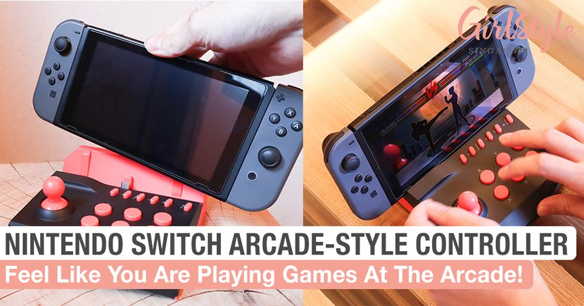 Feel Like You Are Playing Games At The Arcade With This Nintendo Switch Controller
