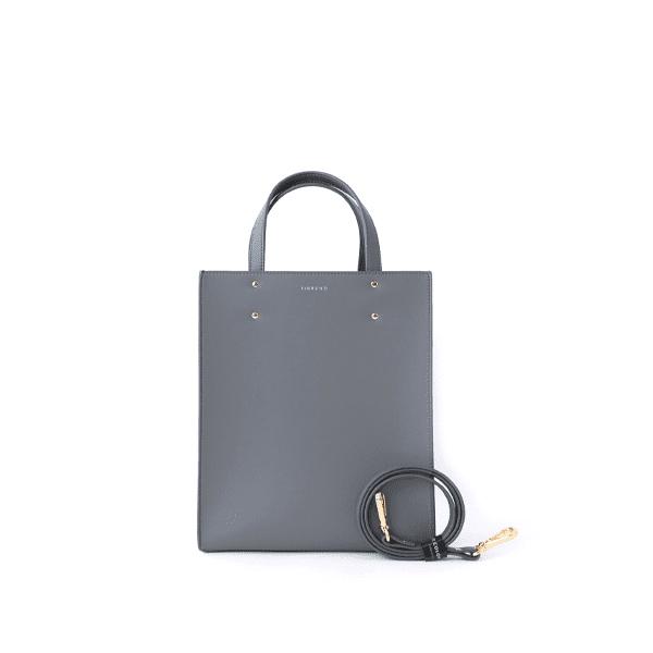 FIBRENO tote bag in grey