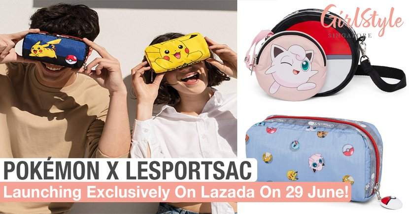 New Adorable Pokémon X LeSportsac Collection Available Exclusively On Lazada On 29 June