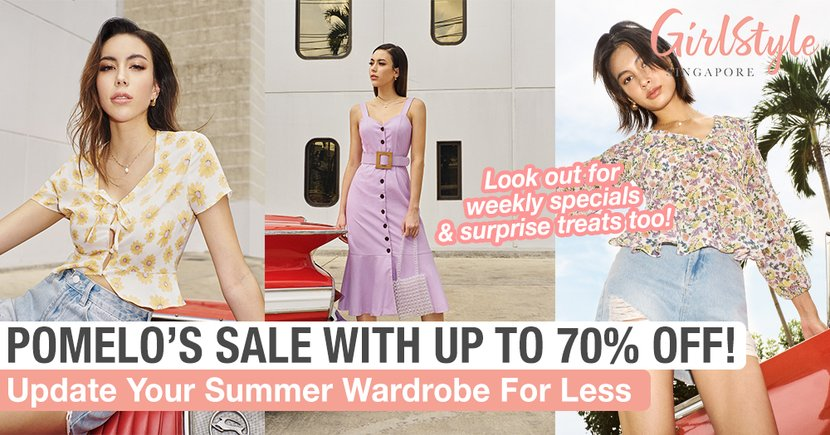 Update Your Summer Wardrobe For Less At Pomelo's End Of Season Sale With Up To 70% Off