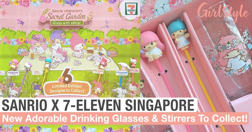 New Adorable Sanrio Secret Garden Collectibles Avail From 10 Jun At 7-Eleven SG Stores Islandwide