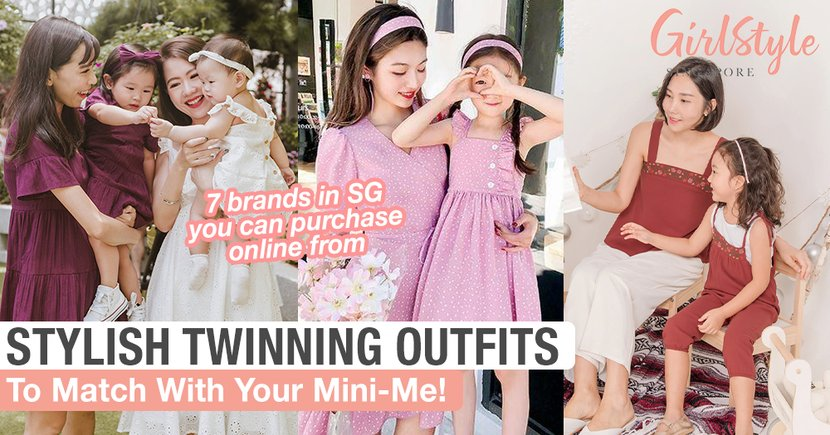 7 Brands In SG With Stylish Twinning Outfits You Can Purchase Online To Match With Your Mini-Me