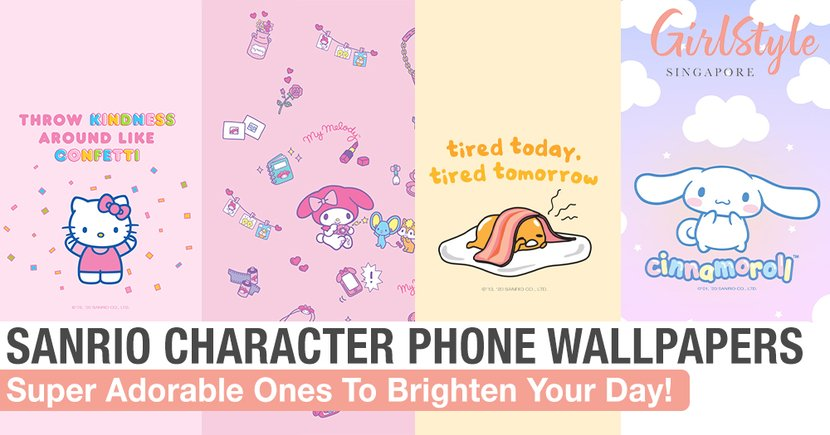 Brighten Your Day When You Look At Your Phone With These Adorable Sanrio Character Wallpapers