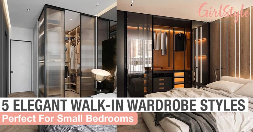 5 Elegant Walk-In Wardrobe Styles To Take Inspiration From For Small HDB Bedrooms