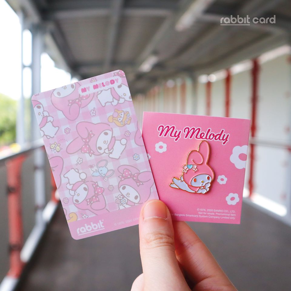 Sanrio Rabbit Cards with My Melody