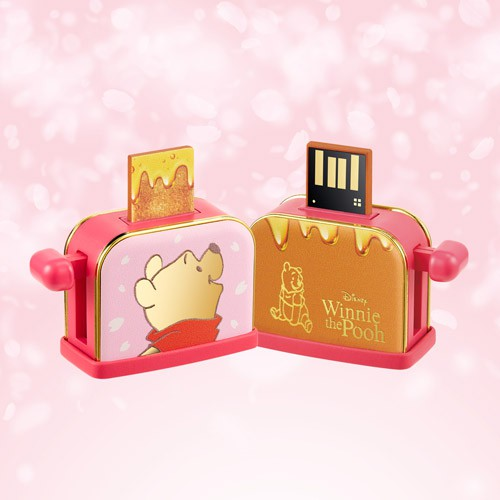Infothink Winnie-the-Pooh Series Honey Toaster Pendrive