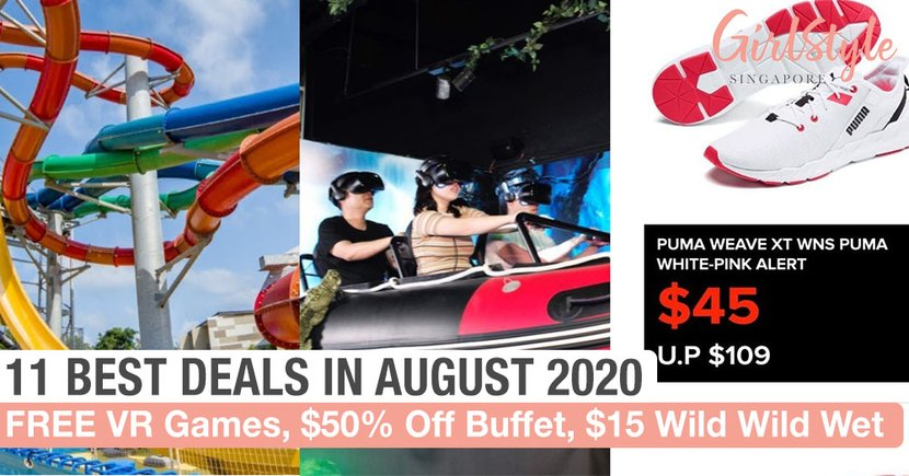 11 Deals In August 2020: 50% Off Hotel Buffet, Jumbo Seafood's Crab, & 1-For-1 Japanese Skewers