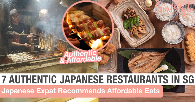 Japanese Expat Recommends 7 Best Authentic Affordable Japanese Restaurants In Singapore