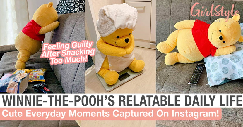 Relatable Daily Life Of Winnie-The-Pooh On Instagram With Cute Plush Toys