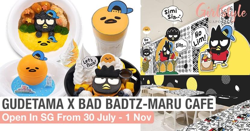 Gudetama X Bad Badtz-Maru Themed Cafe: Open At Kumoya Singapore From 30 July To 1 Nov 2020