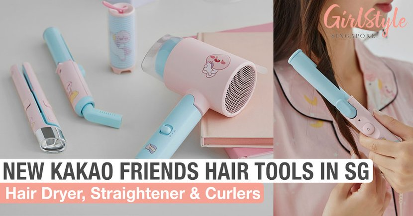 We Found More New KAKAO FRIENDS Apeach Hair Styling Tools & You Can Buy Them In Singapore