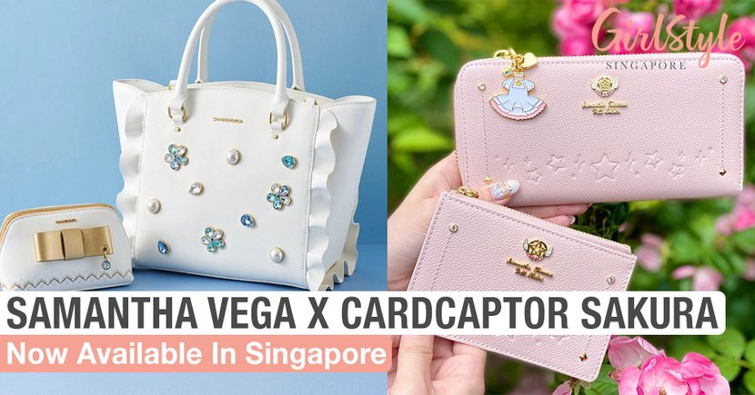 Samantha Vega's New Cardcaptor Sakura 2020 Collection Is Now Available In Singapore