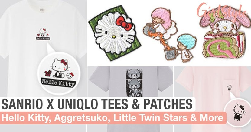 Sanrio x Uniqlo: New T-Shirts & Limited Edition Iron-On Patches Inspired By Local Snacks