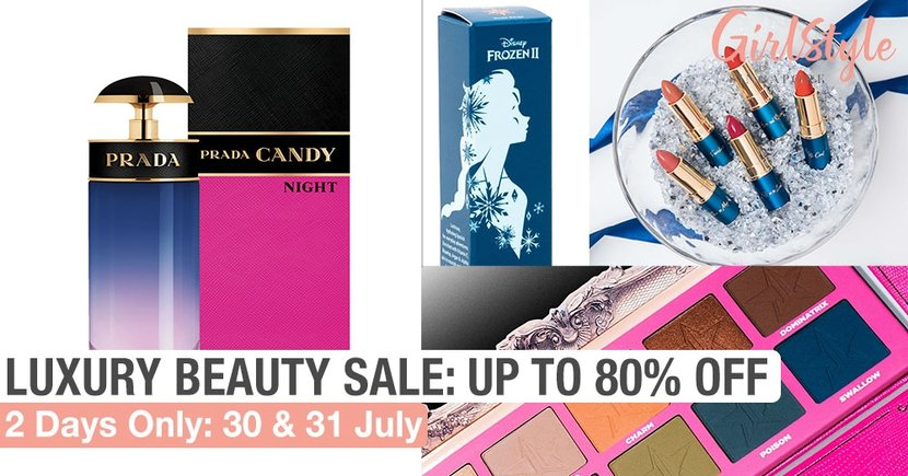 Shopee Luxury Beauty Warehouse Sale: Up To 80% Off Branded Skincare, Makeup & Perfume On 30-31 July
