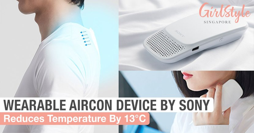 This New Wearable Aircon Device By Sony Japan Will Keep You Cool In Singapore's Heat