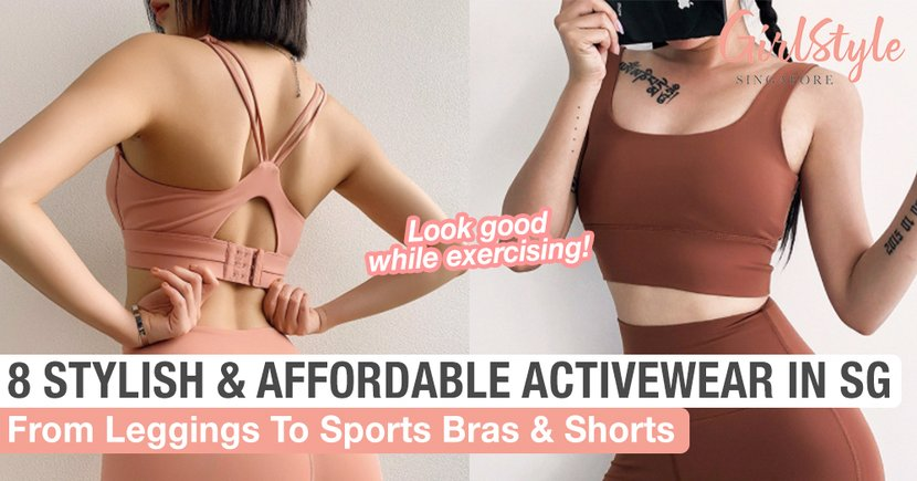 8 Stylish & Affordable Activewear You Can Purchase Online In Singapore To Look Good While Exercising