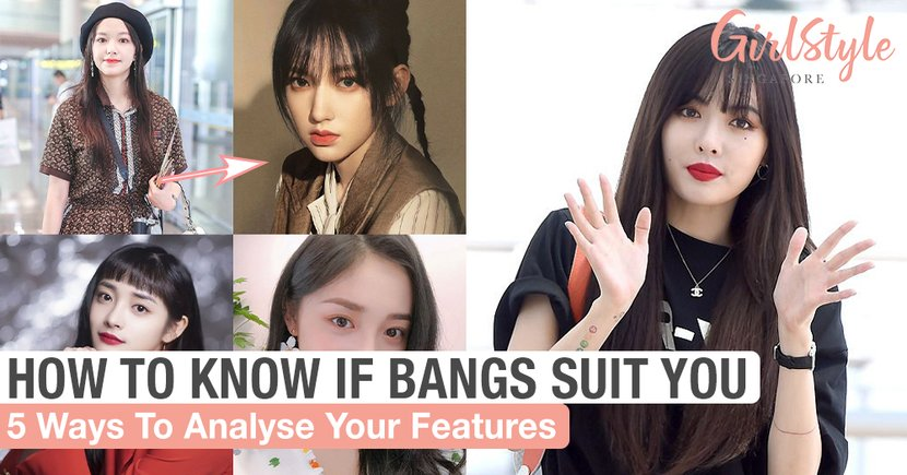 5 Ways To Know If Bangs Will Look Good On You Or Not By Analysing Your Features