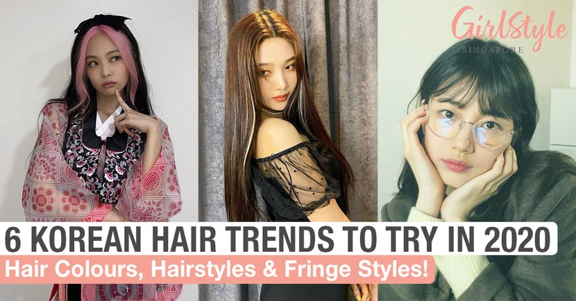 6 Korean Celebrity Hair Trends In The Second Half Of 2020 You Need To Try For A New Look