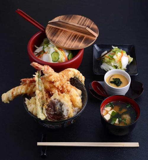 food in Ginza Tendon Itsuki