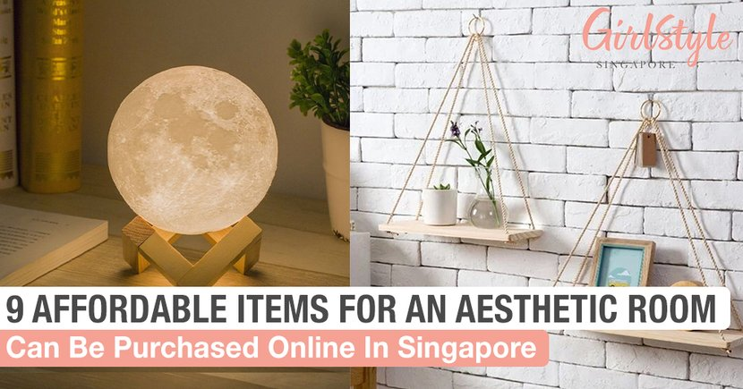 9 Affordable Items You Can Purchase Online In Singapore To Achieve An Aesthetic Bedroom