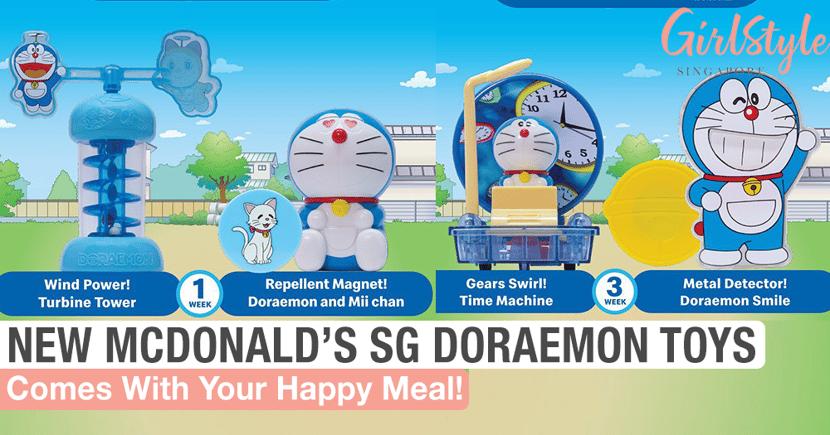 New McDonald's Singapore Doraemon Happy Meal Toy