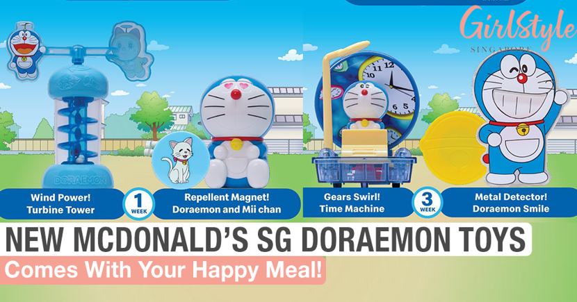 Mcdonald S Singapore Doraemon Happy Meal Toy 2020 Girlstyle Singapore