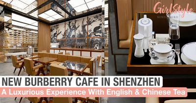 Enjoy A Luxurious Afternoon Tea At The New Burberry Café In Shenzhen, China
