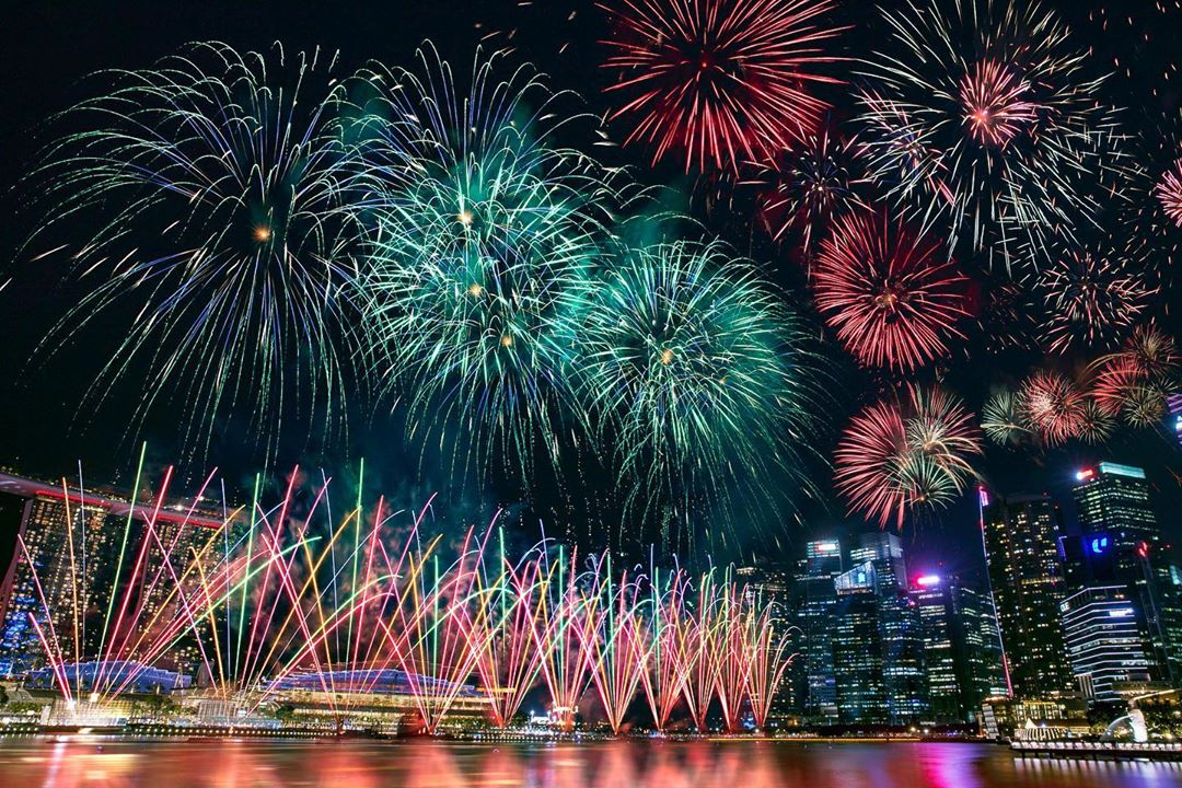 National Day 2020 fireworks Singapore NDP