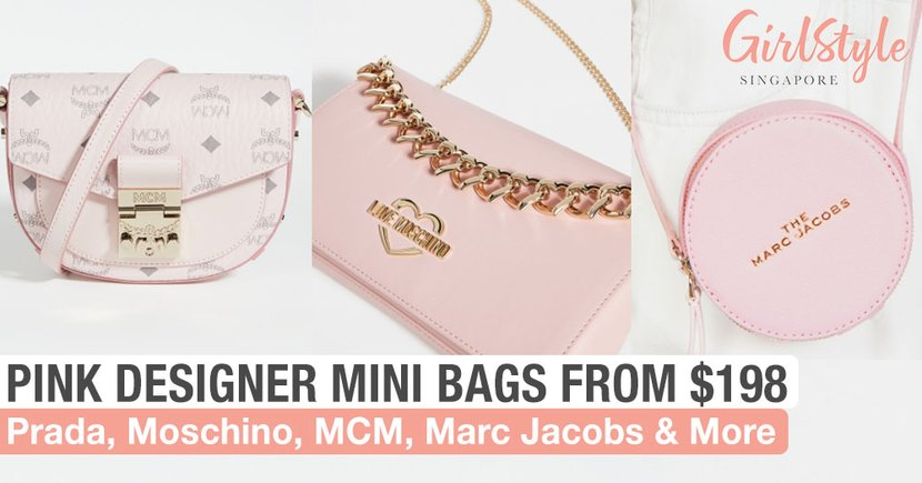 8 Pink Designer Mini Bags In Singapore From Just $198 That Are Classy & Feminine