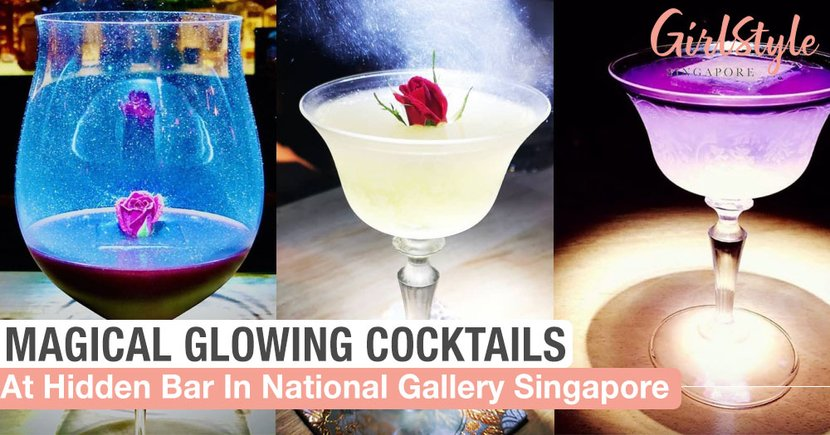The Public Eight: Hidden Bar With Gorgeous Magical Cocktails At National Gallery Singapore